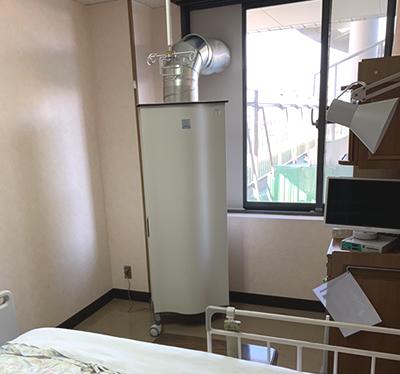 西横浜国際総合病院様の室内でGenanoの写真2