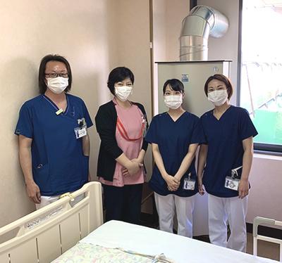 西横浜国際総合病院様の室内でGenanoの写真1